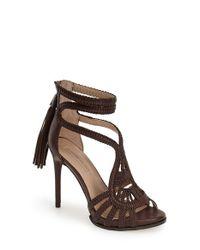 BCBGMAXAZRIA | Brown 'esh' Sandal | Lyst