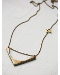 Free People - Green Seaworthy Womens Lanata Necklace - Lyst