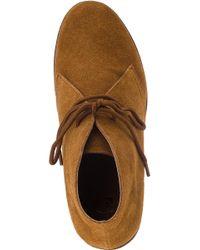 Kelsi Dagger Brooklyn Brown Fanetta Desert Boot Cognac Suede