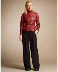 Belstaff | Black Pippa Trousers | Lyst