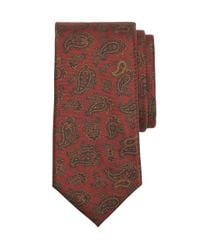 Brooks Brothers | Red Golden Fleece® 7-fold Ancient Madder Paisley Tie for Men | Lyst