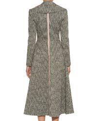 ROKSANDA - Gray Lam Fairlgh Coat - Lyst