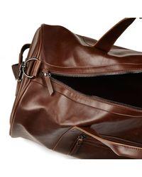 River Island Brown Holdall Bag for men