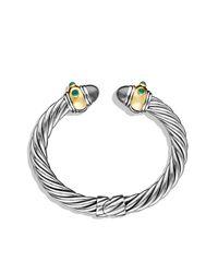 David Yurman - Metallic Renaissance Bracelet With Gold, 8.5mm - Lyst