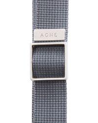 Acne Studios Gray Baldwin Bracelet for men