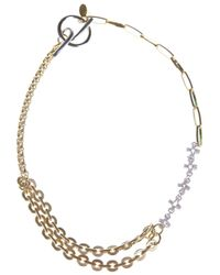 Wouters & Hendrix - Metallic Chain Link Necklace - Lyst
