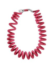 KENZO - Pink Necklace - Lyst