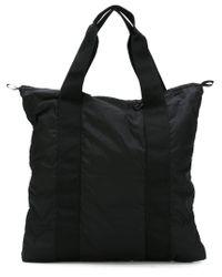 Christopher Raeburn Black Quilted Tote Bag for men