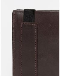 ASOS | Leather Wallet In Brown for Men | Lyst