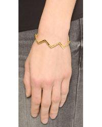 Gorjana Metallic Vista Cuff Bracelet - Gold