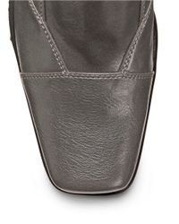 Aerosoles | Gray Cincture Faux Leather Mules | Lyst