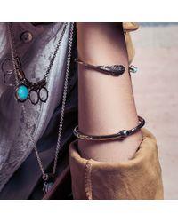 Pamela Love | Blue Pluma Cuff | Lyst