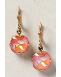Anthropologie | Orange Catamarca Earrings | Lyst
