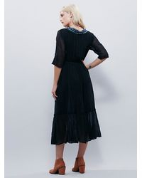 Free People | Black Thunderbird Maxi | Lyst