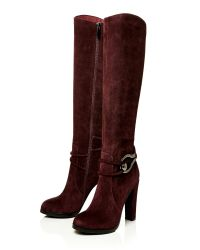 Moda In Pelle | Red Valentia High Smart Long Boots | Lyst