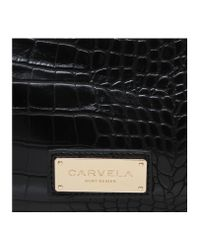 Carvela Kurt Geiger | Black Circe Mini Winged Bag | Lyst