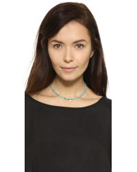 Jacquie Aiche | Metallic Ja Turquoise Choker Necklace | Lyst