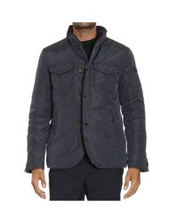 Peuterey - Blue Down Jacket for Men - Lyst