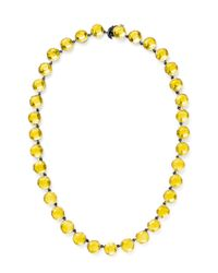 She Bee Gem - Youre So Cool Necklace in Yellow - Lyst
