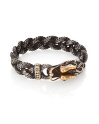 John Hardy | Metallic Batu Naga Woven Bracelet | Lyst