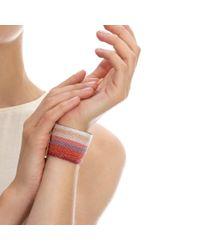 Carolina Bucci Red Dawn Woven Bracelet