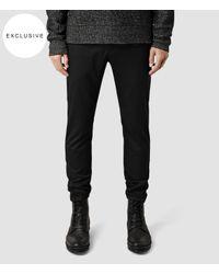 AllSaints | Black Fagin Trouser for Men | Lyst