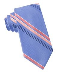 MICHAEL Michael Kors | Natural Woven Striped Silk Tie for Men | Lyst