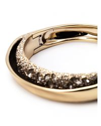 Alexis Bittar - Metallic Secret Encrusted Hinge Bracelet - Lyst