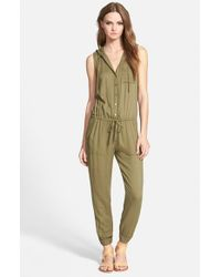 Soft Joie | Green 'biltmore B' Sleeveless Jumpsuit | Lyst