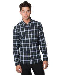 7 Diamonds | Green Regular Fit Plaid Sportshirt for Men | Lyst
