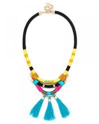 BaubleBar | Multicolor Ofu Tassel Bib | Lyst