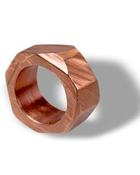 Linnie Mclarty | Pink Monsta Ring Rose Gold for Men | Lyst