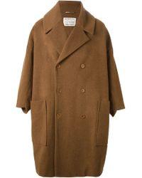 Henrik Vibskov Brown 'floating' Oversized Coat for men