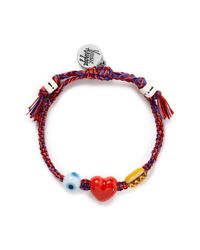 Venessa Arizaga | Multicolor 'i Love Hot Dogs' Bracelet | Lyst