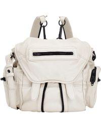 Alexander Wang Natural 'mini Marti' Leather Backpack