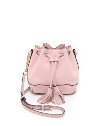 Rebecca Minkoff - Micro Lexi Bucket Bag - Baby Pink - Lyst