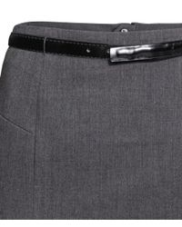 H&M Gray Pencil Skirt
