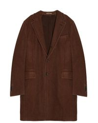 Boglioli | Natural Wool Coat | Lyst