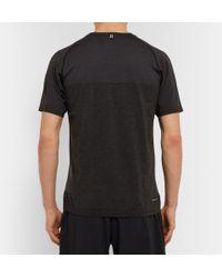 Nike | Gray Dri-Fit Running T-Shirt for Men | Lyst