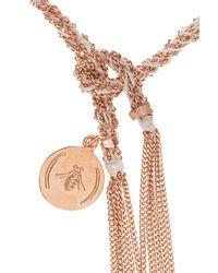 Carolina Bucci | Metallic Cb Lucky Red Bracelet | Lyst
