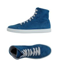Torlasco Blue High-tops & Trainers for men