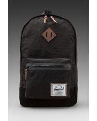 Herschel Supply Co. Bad Hills Collection Heritage Plus Backpack in Black for men