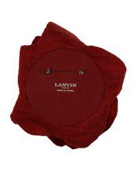 Lanvin - Red Brooch - Lyst