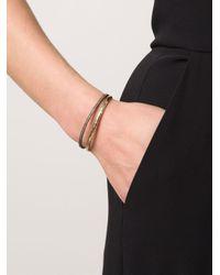 Nancy Newberg - Metallic Double Bangle Bracelet - Lyst