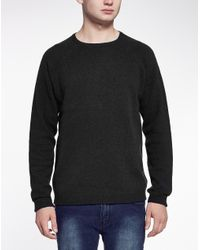 Cheap Monday - Gray Jumper In Slub Knit for Men - Lyst