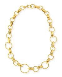 Gurhan | Yellow Wheatla Collection 24K Link Necklace | Lyst