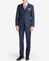 Ted Baker - Blue Sterling Wool Suit Trousers for Men - Lyst
