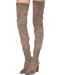 Stuart Weitzman | Brown Alllegs Thigh High Boots - Swamp | Lyst