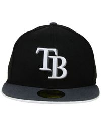 KTZ - Black Tampa Bay Rays G-flip 59fifty Cap for Men - Lyst