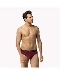 Tommy Hilfiger Red Stretch Cotton Brief for men